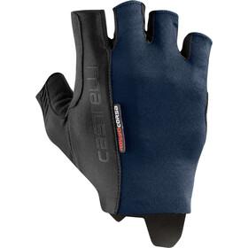 Castelli Rosso Corsa Espresso Handschoenen, savile blue